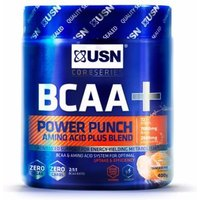 Image of USN BCAA+ Power Punch - 400g-Tangerine | Vitamins and Minerals