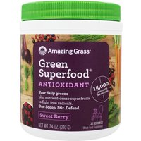 Image of Green Superfood Antioxidant - 30 Servings (Sweet Berry) Health Foods Amazing Grass