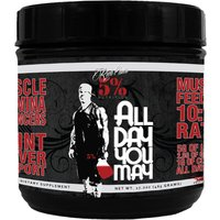 Image of Rich Piana ALL DAY YOU MAY (30 Servings) - Lemon Lime Post-Workout Supplements 5% Nutrition