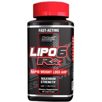 Image of Nutrex Lipo6 RX 60 Capsules Bodybuilding Warehouse Research