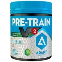 Image of Adapt Pre-Train V2- 300g-Green Apple Pre-Workout Supplements ADAPT Nutrition