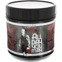 Image of Rich Piana ALL DAY YOU MAY (30 Servings) - Watermelon Post-Workout Supplements 5% Nutrition