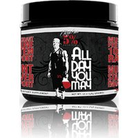 Image of Rich Piana ALL DAY YOU MAY (30 Servings) - Fruit Punch Post-Workout Supplements 5% Nutrition