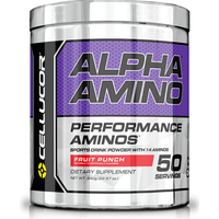 Image of Alpha Amino - 50 Servings-Fruit Punch Bodybuilding Warehouse Cellucor