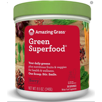 Image of Green Super Food 30 Serv-Berry Health Foods Amazing Grass