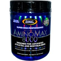 Image of AminoMax 8000 - 350 Tabs Bodybuilding Warehouse Gaspari