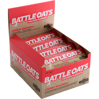 Image of Recovery Bar 12 x 70g-Cherry Bakewell Bodybuilding Warehouse Battle Oats