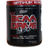 Image of Nutrex BCAA Drive Black - 200 Tablets Bodybuilding Warehouse Research