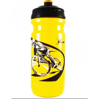 Image of OLIMP Shakers Tour De Pologne Water Bottle 600ml - Yellow