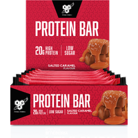 Image of Protein Bar - 12 Bars-Salted Caramel - High Protein Snacks - BSN
