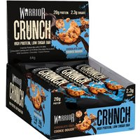 Image of Choc Chip Cookie Dough - Warrior Crunch 12 Bars Protein Supplements