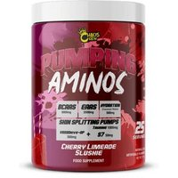 Image of Pumping Aminos (25 Servings) - Cherry Limeade Slushie BCAA & EAA Chaos Crew