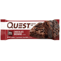 Image of Quest High Protein Snacks Bars - 12 Bars-Chocolate Brownie