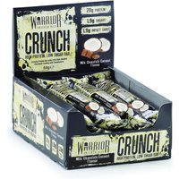 Image of *Short Dated* Milk Chocolate Coconut - Warrior CRUNCH 12 Bars (10/20 -11/20) Bodybuilding Warehouse Clearance