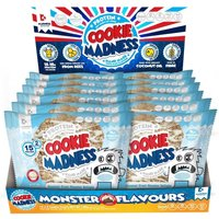 Image of Cookies (Box of 12 x 2 Cookies)-Choc Candy Bodybuilding Warehouse Cookie Madness