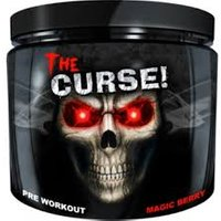 Image of The Curse - Pre-Workout 50 Servings 250g Blue Raspberry Ice - Pre-Workout Supplements - JNX Sports