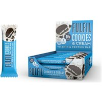 Image of Vitamin and Protein Bar - 12 Bars-Cookies Cream Bodybuilding Warehouse Fulfil
