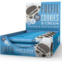 Image of Vitamin and Protein Bar - 15 Bars-Chocolate Coconut DATED APRIL 19 Bars Fulfil