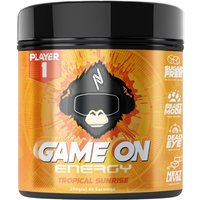 Image of Game On Tropical Sunrise 200g Gaming Drinks Nootropic Player1
