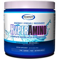 Image of HyperAmino - 30 Servings-Blue Raspberry Bodybuilding Warehouse Gaspari