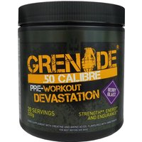Image of .50 Calibre - 20 Servings-Berry Blast Pre-Workout Supplements Grenade