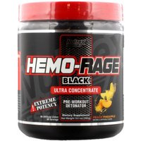 Image of Nutrex Hemo-RAGE Black ULTRA Concentrate-285g-Peach Pineapple Bodybuilding Warehouse Research