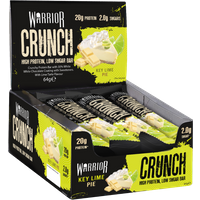 Image of Key Lime Pie – Warrior CRUNCH 12 Bars Protein Supplements