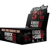 Image of 5% Nutrition Protein Powder Rich Piana Knock the Carb Out 10 Pack- Double Dark Choc Chip