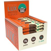 Image of Premium Lux Flapjack - Chocolate Mint 1 Box 24x75g Protein Bars Bodybuilding Warehouse