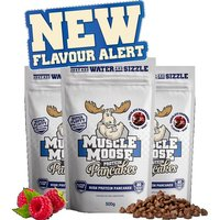 Image of Muscle Moose Protein Pancakes - 500g-Chocolate Raspberry Bodybuilding Warehouse Genetic Supplements