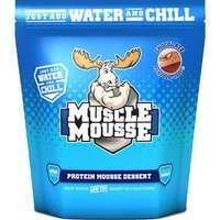 Image of *SALE* Muscle Mousse - 750g-Strawberry Bodybuilding Warehouse Genetic Supplements