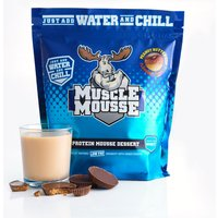 Image of *LATE DATED JUNE 18* Muscle Mousse - 750g-Choc Peanut Caramel Bodybuilding Warehouse Genetic Supplements