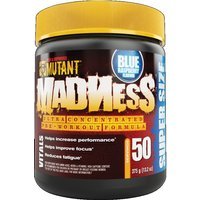 Image of Mutant MADNESS 375g (50 Sevings) -Blue Raspberry Bodybuilding Warehouse PVL