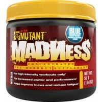 Image of Mutant MADNESS 55g (10 Sevings) - Blue Raspberry Bodybuilding Warehouse PVL