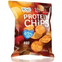 Image of Nutrition Protein Chips 6 x 30g-BBQ Bodybuilding Warehouse Novo