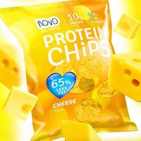 Image of Nutrition Protein Chips 6 x 30g-Cheese Bodybuilding Warehouse Novo