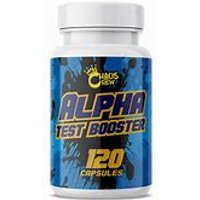 Image of Alpha Test Booster - 120 Caps Vitamins & Minerals Chaos Crew