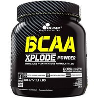 Image of BCAA Xplode 2:1:1 - 500g TUB-Fruit Punch - Vitamins And Minerals - OLIMP