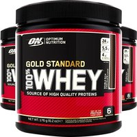 'On 100% Whey Gold Standard 180g - Sample Tub -double Chocolate Protein Powder Optimum Nutrition