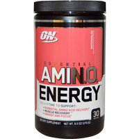 Image of Amino Energy - Acids & Caffeine 30 Servings 270g-Lime Mint Mojito - Bcaa And Eaa - Optimum Nutrition