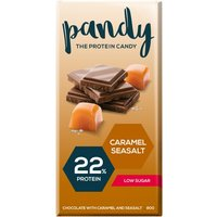 Image of Pandy Protein Chocolate 80g-Caramel Seasalt DATED FEB 19 Bodybuilding Warehouse Candy