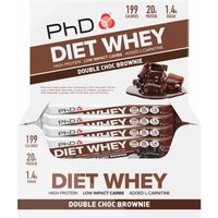 Image of Phd Diet whey Bar 12 x 50g -Dark Choc Mocha DATED OCT 18 Bodybuilding Warehouse 404