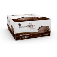 Image of Choklat Bar 12 x 40g - Dark Chocolate Bodybuilding Warehouse Powercrunch