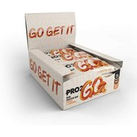 Image of Pro2Go RAW Protein Bar 50g x 12 Bars - Pecan and Caramel (BBE 07-06-21) Low Price Sci-MX