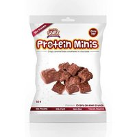 Image of Minis 50g Crispy Caramel Crunch (Aug 2017) Bodybuilding Warehouse Protein Snax