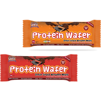 Image of Wafer - 40g-Chocolate Orange Bodybuilding Warehouse Protein Snax