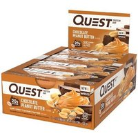 Image of Protein Bars - 12 Bars-Chocolate Peanut Butter Meal Replacement Quest