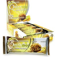 Image of Protein Bars - 12 Bars-Banana Nut Muffin Meal Replacement Quest