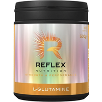 Image of L-Glutamine - 500g - Bcaa And Eaa - Reflex Nutrition