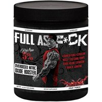 Image of 5% Nutrition Pre-Workout Supplements Rich Piana Full As F - 30 Servings-Blue Raspberry